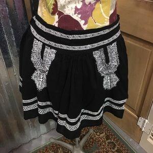 Romeo & Juliet Couture Black Skirt Boho